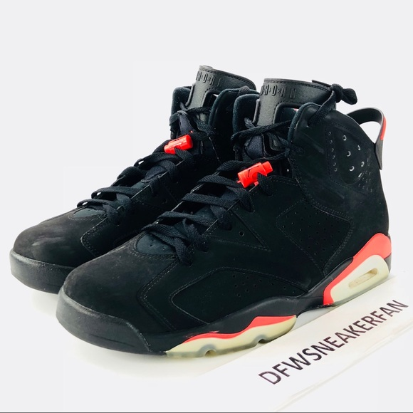48cf419e1caaca Jordan Other - Air Jordan Retro 6 Infrared Mens Size 11 Used